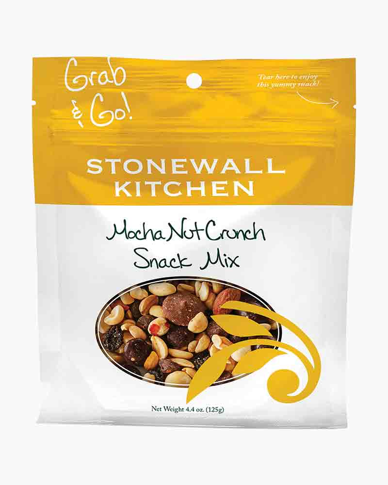 Stonewall Kitchen Mocha Nut Crunch Snack Mix