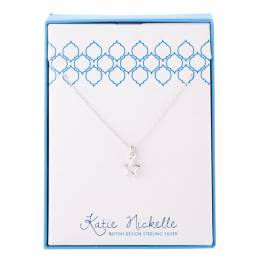 Katie Nickelle Silver Small Star Charm Necklace