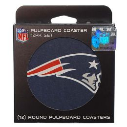 Boelter Brands New England Patriots Paper Coasters