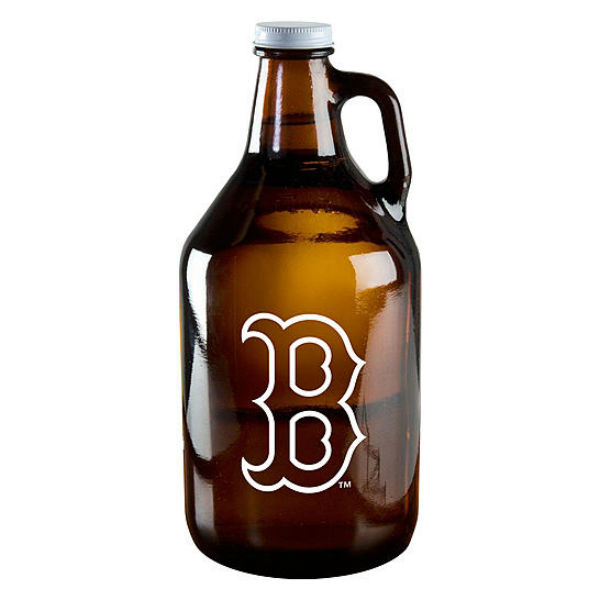 Boelter Brands Boston Red Sox Amber Growler Jar