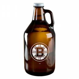 Boelter Brands Boston Bruins Amber Growler Jar