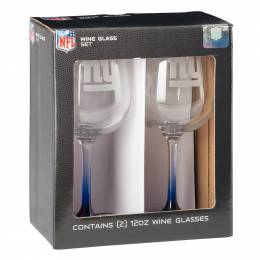 Boelter Brands New York Giants Wine Glass Pair