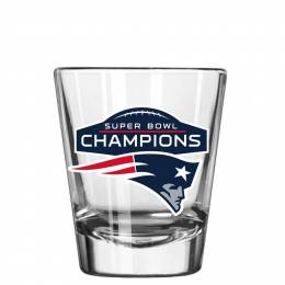Boelter Brands New England Patriots Super Bowl LI Shot Glass