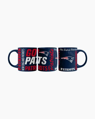 New England Patriots Go Pats Mug