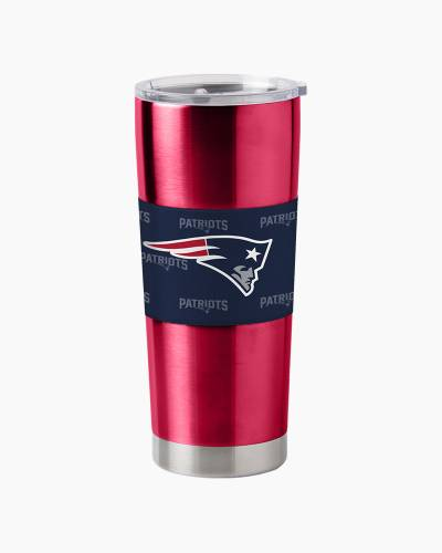 New England Patriots Stainless Steel Neoprene Ultra Tumbler