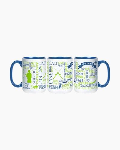 Gone Fishing Ceramic Mug