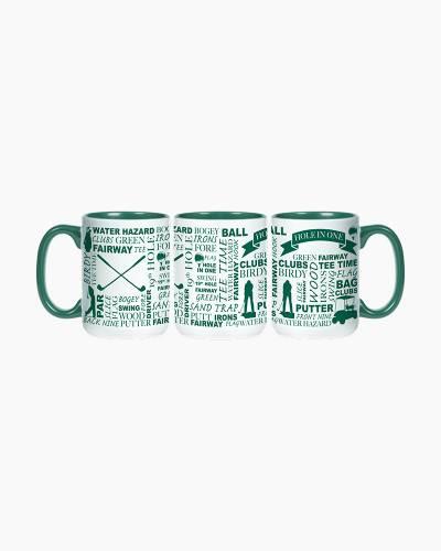 Golfing Hole in One Ceramic Mug