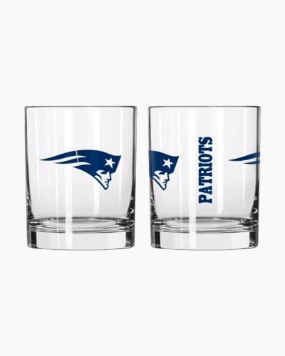 New England Patriots 14 oz. Glass