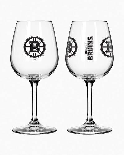 Boston Bruins Game Day Wine Glass