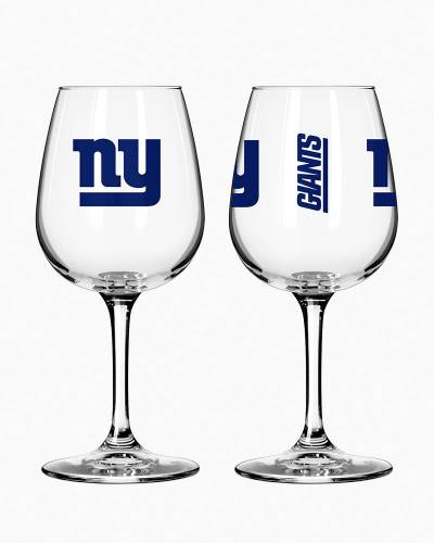 New York Giants Game Day Wine Glass