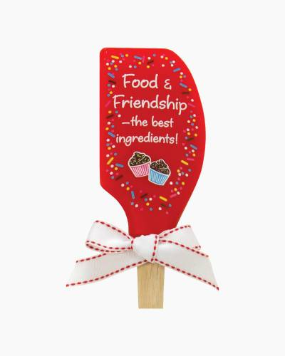 Food and Friendship Silicone Spatula