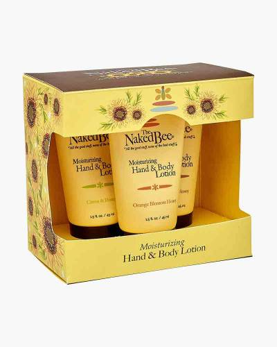 Hand and Body Lotion Trio Gift Set