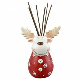 The Pomeroy Collection Reindeer Reed Diffuser Gift Set