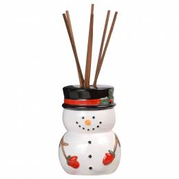 The Pomeroy Collection Snowman Reed Diffuser Gift Set