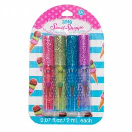 Three Cheers for Girls Ice Cream Flavored Glitter Lip Gloss Set