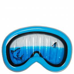 Three Cheers for Girls Shark Snorkel Mask Inflatable Pool Float