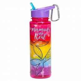 Three Cheers for Girls Mermaids are Real Water Bottle