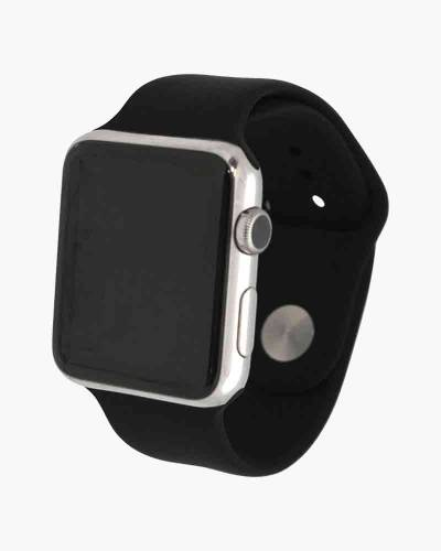 Apple Watch Silicone Band in Black (42mm)