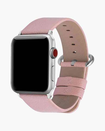 Apple Watch Faux Leather Band in Blush (38mm)