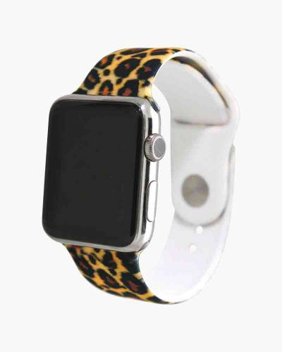 Apple Watch Silicone Band in Leopard Print (38mm)