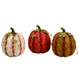 Transpac Imports Medium Resin Pumpkin (Assorted)