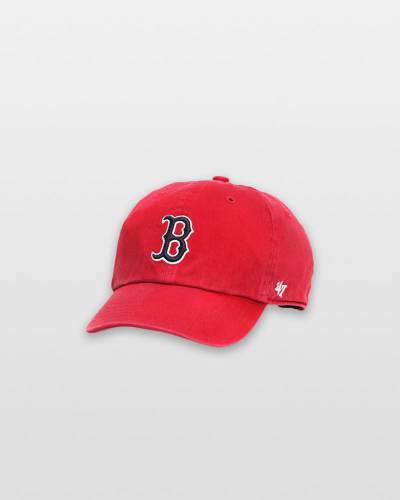 Boston Red Sox Kids '47 Clean Up - Red