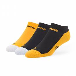 '47 Boston Bruins '47 Float No-Show Motion Sock 3-Pack