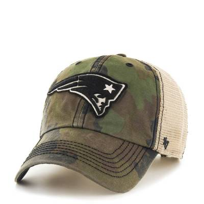 New England Patriots Frontline Green Camo Burnett '47 Clean Up