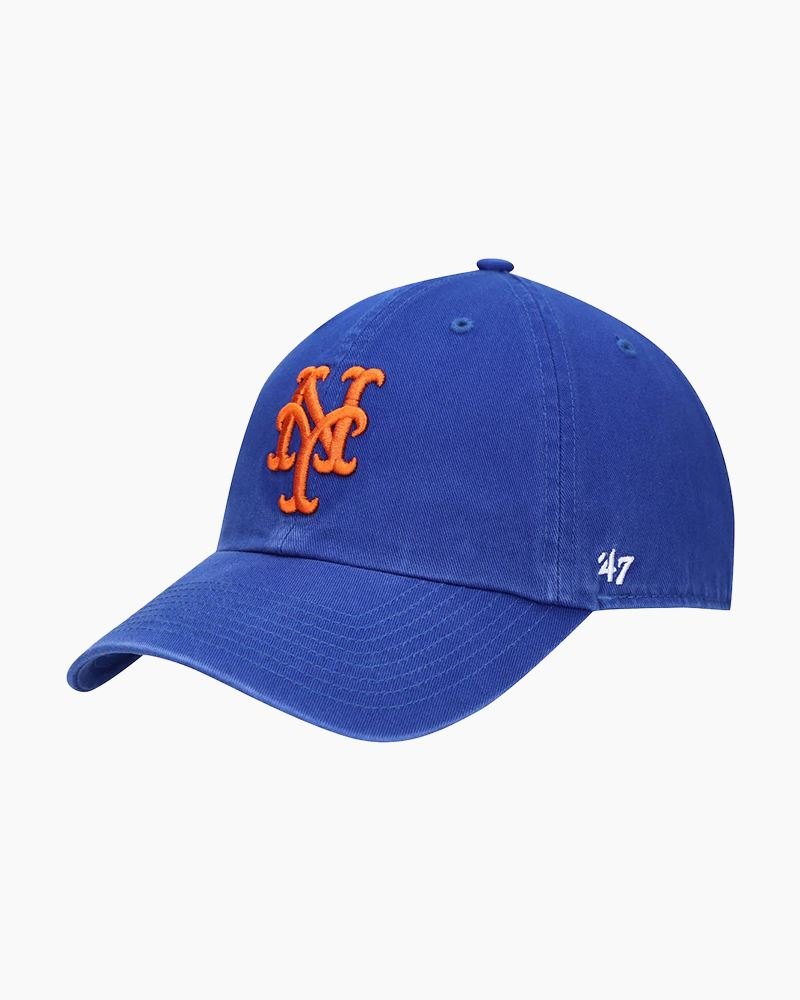 '47 New York Mets Classic Royal '47 Clean Up Cap