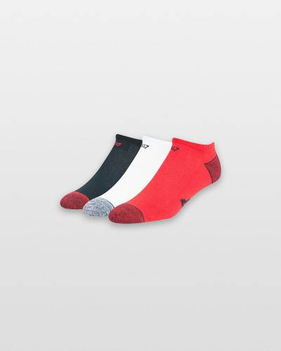 New England Patriots No Show Socks 3-Pack