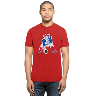 New England Patriots Men's Throwback Logo Tee