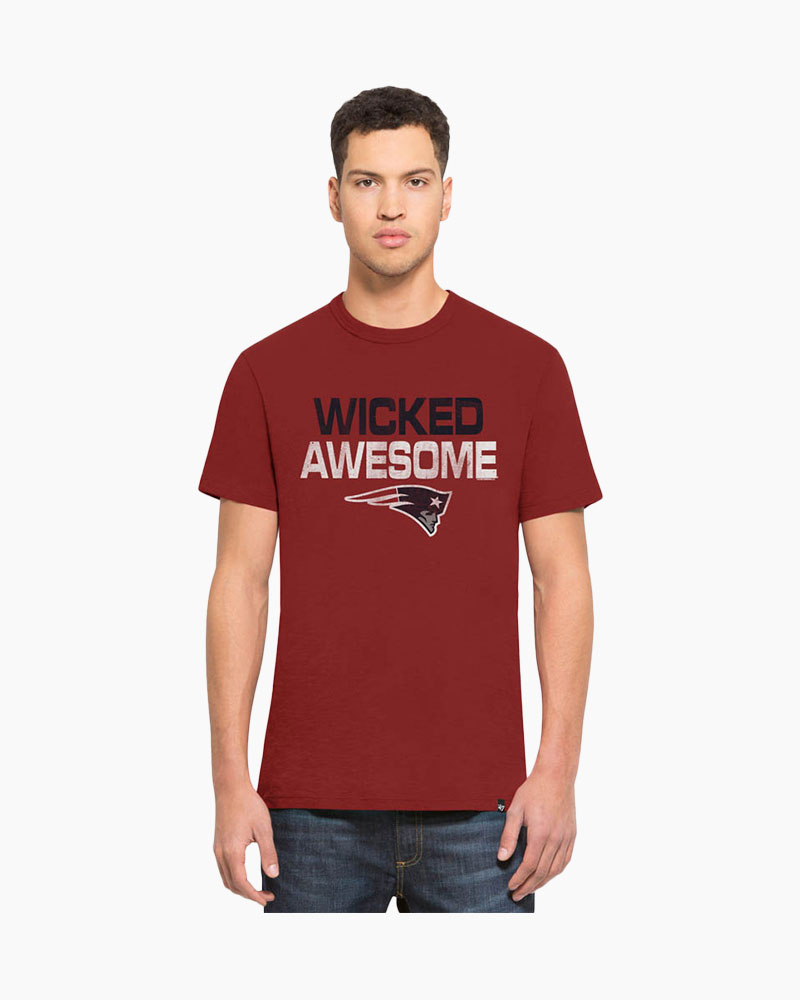 '47 Wicked Awesome Patriots Scrum Tee
