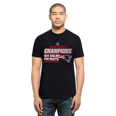New England Patriots Men's Super Bowl LI Champions Club Tee