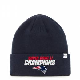 '47 New England Patriots Super Bowl LI Raised Cuff Knit Cap
