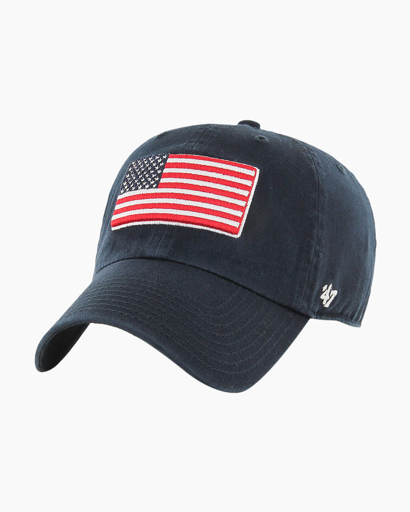 '47 United States Flag OHT Movement Clean Up Cap in Navy