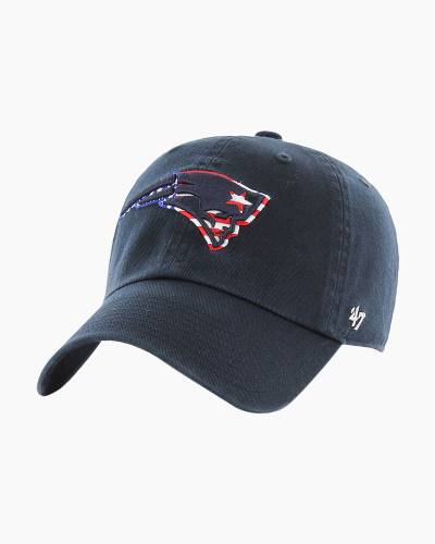 New England Patriots Star Spangled Banner Logo Cap