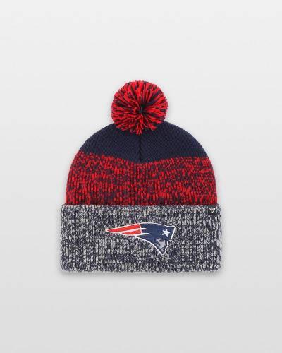 New England Patriots 47 Static Cuff Knit Cap