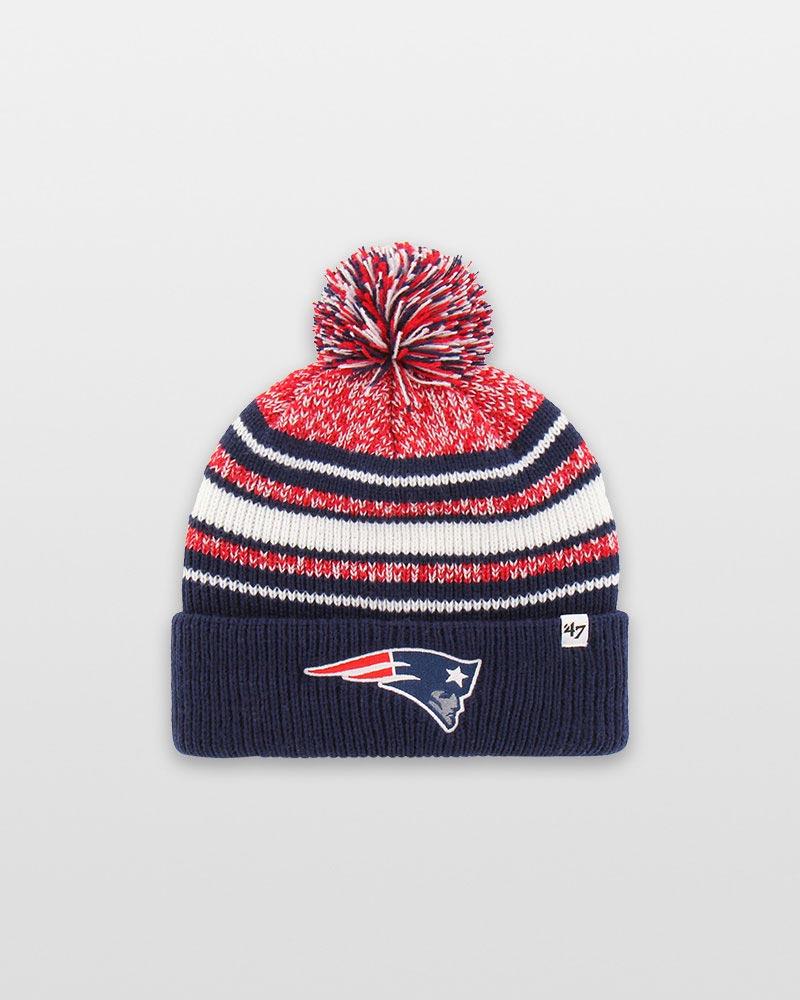 e051189c 47 New England Patriots Youth 47 Bubbler Cuff Knit Cap | The Paper Store