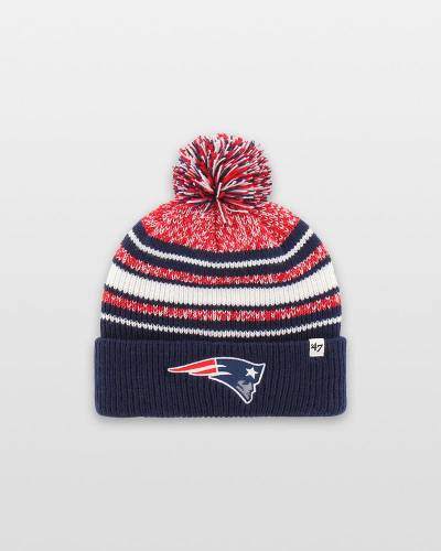 New England Patriots Youth 47 Bubbler Cuff Knit Cap