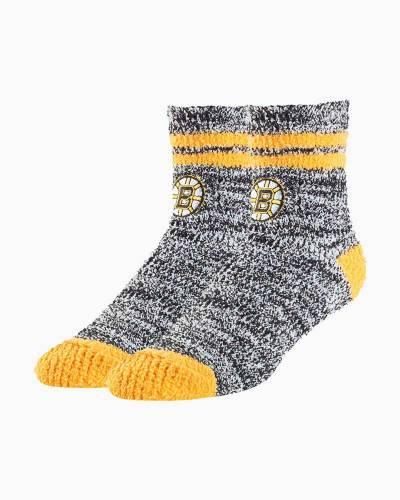 Boston Bruins Women's Balmy Fuzzy Socks