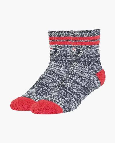 New England Patriots Women's Balmy Fuzzy Socks