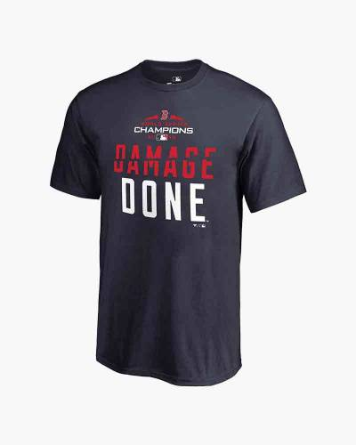 Boston Red Sox 2018 World Series Champions Damage Done Tee