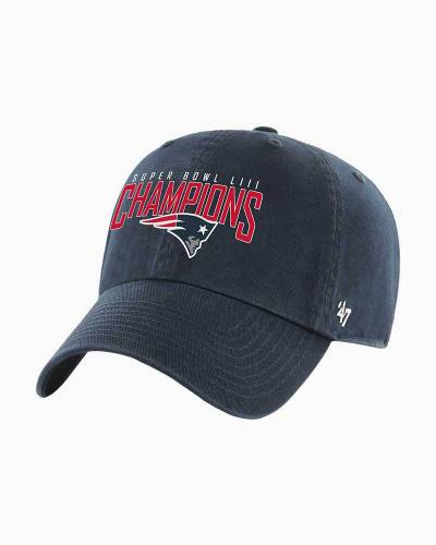 New England Patriots Super Bowl LIII Champions Clean Up Cap