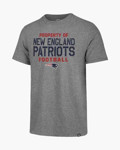 New England Patriots Men's Property Of Match Tee