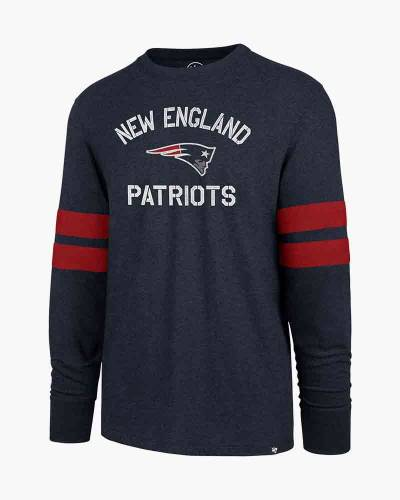 New England Patriots Men's Club Scramble Long Sleeve Tee