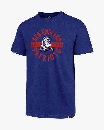 New England Patriots Men's Throwback Roundabout Tee