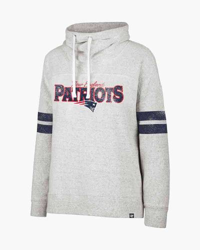 New England Patriots Women's Funnel Neck Pullover