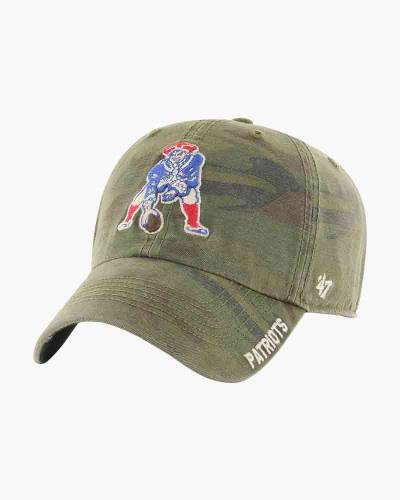 New England Throwback Outrigger Clean Up Cap