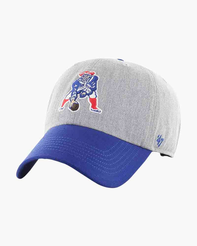 47 New England Patriots Throwback Palomino Clean Up Cap The Paper Store