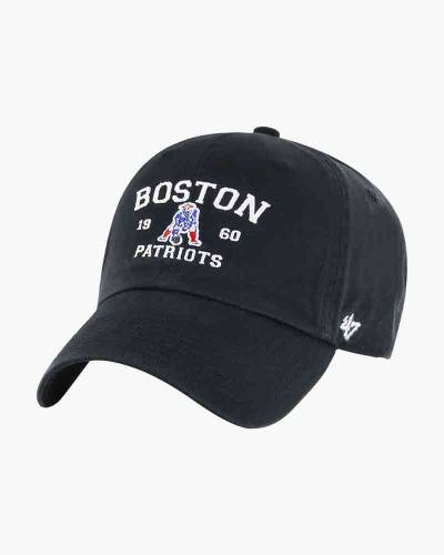 New England Patriots Boston Clean Up Cap in Black